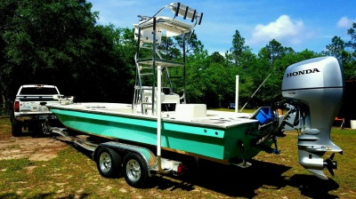 National Trailer -  Aluminum Boat Trailer -  Custom Trailer  Flats Boat - Tunnel Hull - Tower Fishing - High Performance - Aluminum Boat Trailers