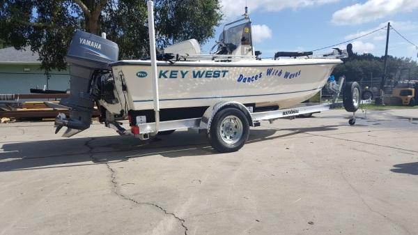 National Trailer -  Aluminum Boat Trailer -  Custom Trailer  Flats Boat - V Hull - Fishing - High Performance - Aluminum Boat Trailers