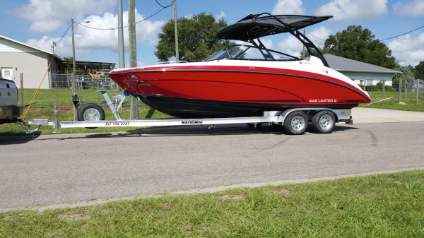 National Trailer -  Ski Boat - Nautic - Aluminum Boat Trailer -  Custom Trailer - Heavy Duty - High Performance - Aluminum Boat Trailers