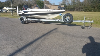 National Trailer -  Aluminum Boat Trailer -  Custom Trailer Flats Boat - Bass Boat - Freshwater Fishing - Bass Fishing - High Performance - Aluminum Boat Trailers