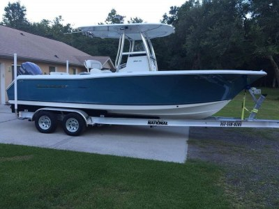 National Trailer -  Sea Hunt Boat - Open Fisherman - Center Console - Aluminum Boat Trailer -  Custom Trailer - Heavy Duty - High Performance - Aluminum Boat Trailers