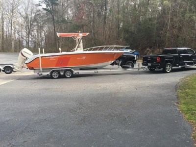 National Trailer -  Open Fisherman - Center Console - Aluminum Boat Trailer -  Custom Trailer - Heavy Duty - High Performance - Aluminum Boat Trailers