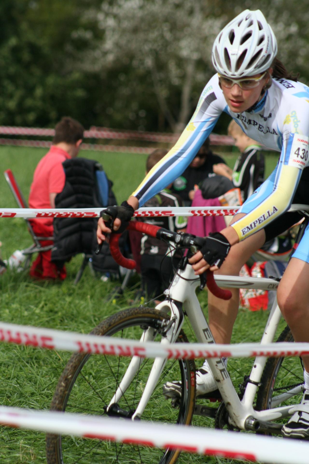 Maddie Hubner Team Empella Cyco-Cross.Com