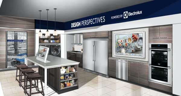 Rendering of the Project: Design Showroom