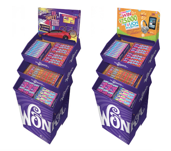 Wonka Promotion Collateral