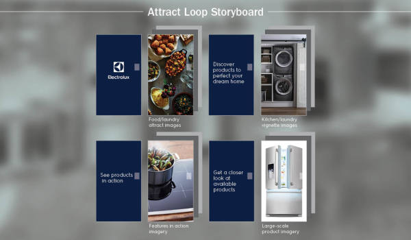 Attract Screen Storyboard