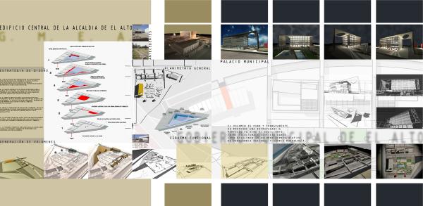 Diseño de la Alcaldía Municipal de El Alto
