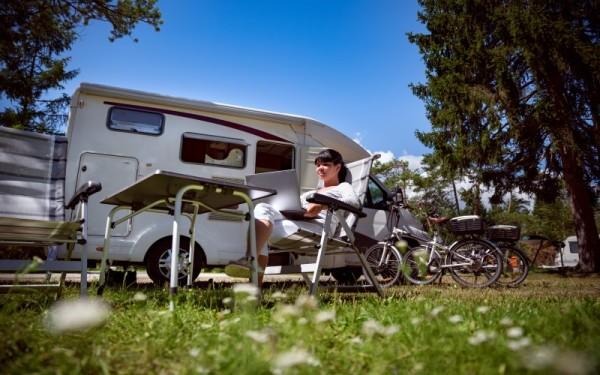 RV Campsite resting