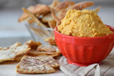 Roasted Butternut Hummus