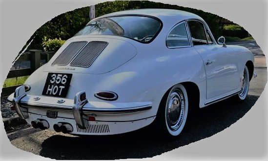 PORSCHE 356 B 1600 WITH 1700 ENGINE