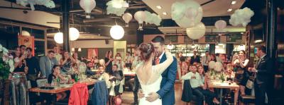 """Restoran """"Flert"""", Novi Beograd - sala za venčanja, svadbe, poslovne događaje, privatne proslave, rođendane, krštenja i druga slavlja - Venčanja već od 27 EUR po osobi"""