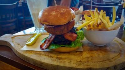 Sticky Bear Burger