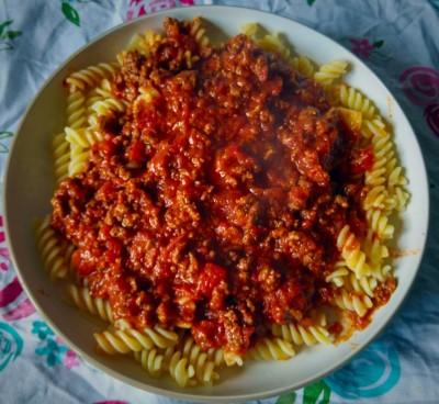 Papa's Bolognese Recipe
