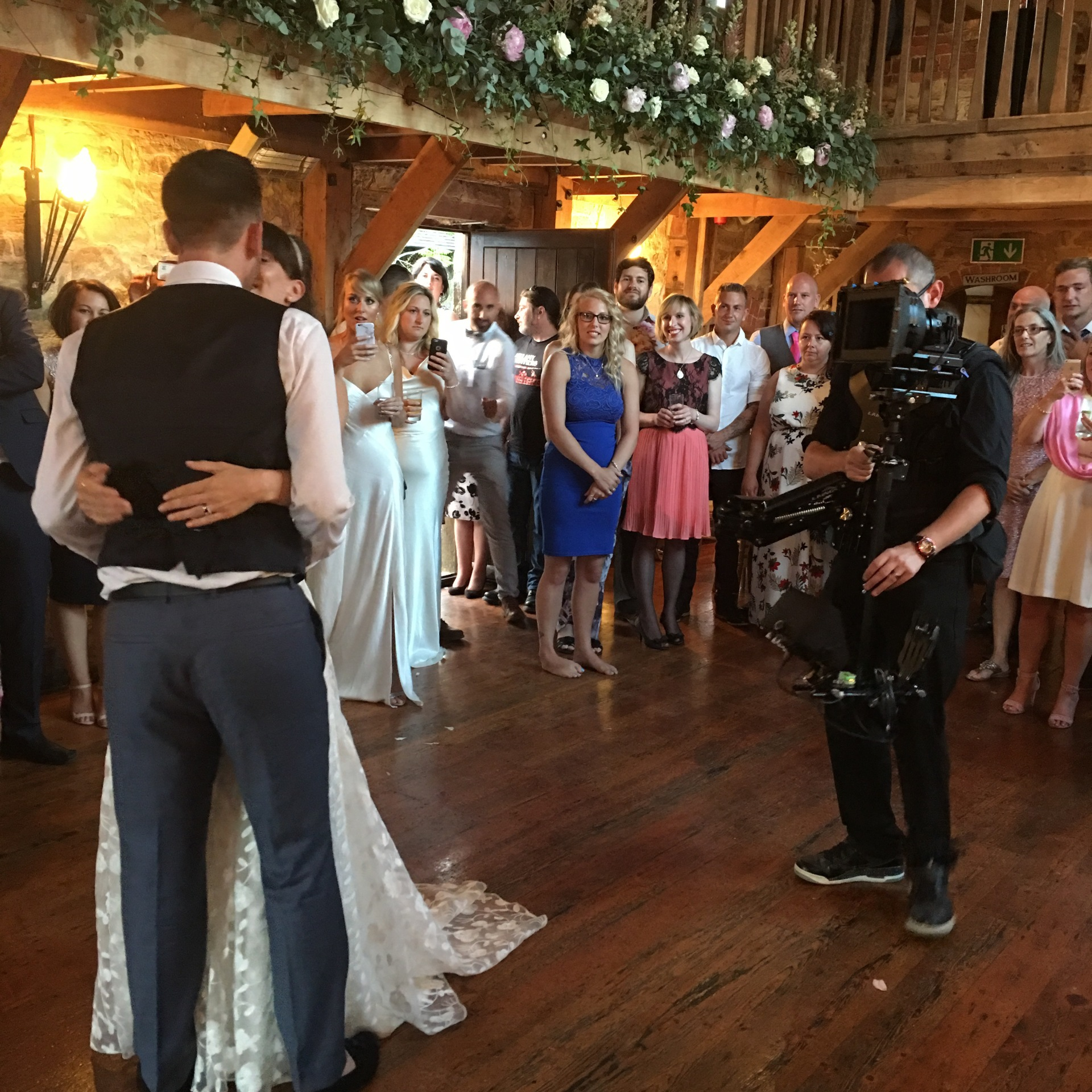 Steadicam wedding