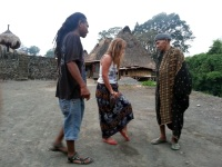 Come to Flores, Visit Bena Traditional House  with Christian Peter, Flores Driver