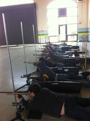 Rifle Team at NELA Match