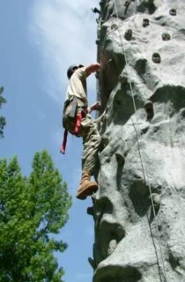JCLC Rock Wall