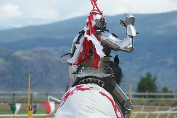 Medieval Jousting Rider