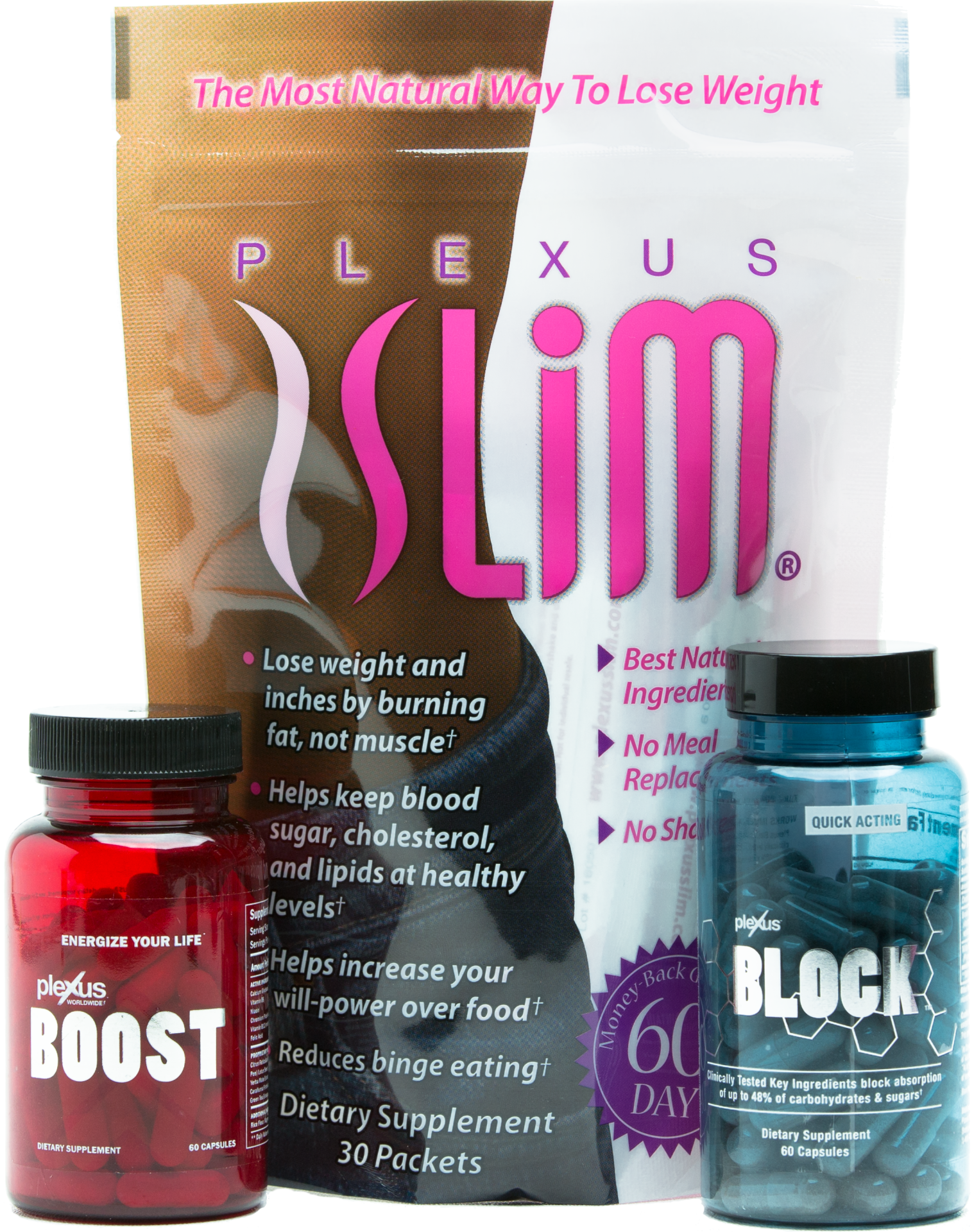 Plexus Slim, Boost, & BLOCK