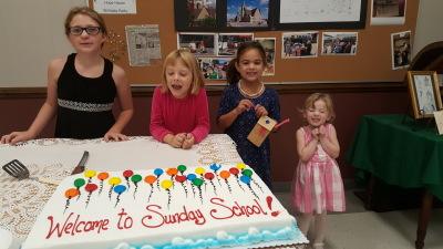 Back to Sunday School 2016