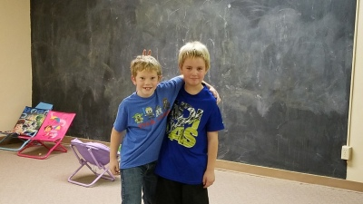 Kid Zone friends
