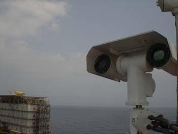 Oil platforms Ex proof PTZ Camera System