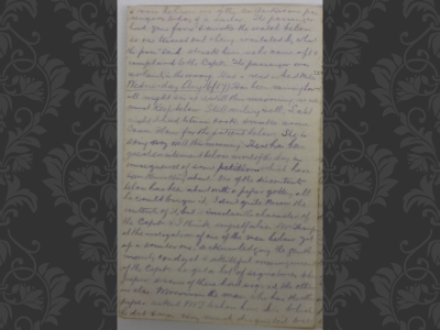 Original photo of diary page courtesy of Angela Curtis