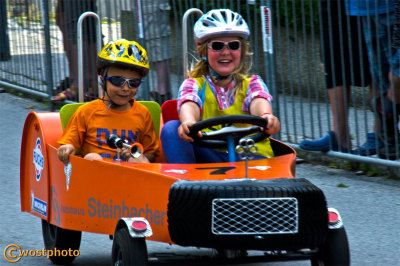 Werfen, Salzburg, Austria, wostphoto, Wolfgang-Stocker, Soap-box-race, tradition, kids-fun, cars, wooden-cars, vintage, event