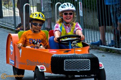Werfen, Salzburg, Austria, wostphoto, Wolfgang-Stocker, Soap-box-race, tradition, kids-fun, cars, wooden-cars, vintage, event