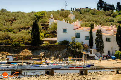 Home of Salvador Dali in Portlligat