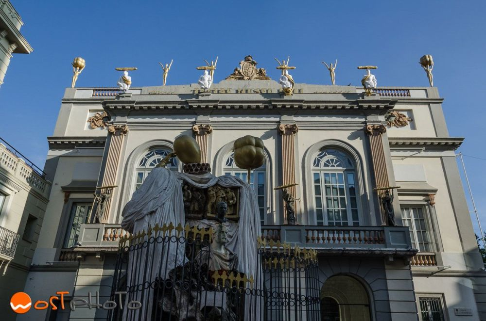 Dali theatre museum in Figueres, Catalonia, Spain