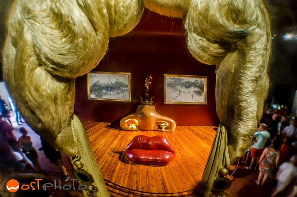 Dali theatre museum in Figueres, Catalonia, Spain