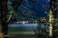 Hallstatt and its lake in Upper Austria in Summer