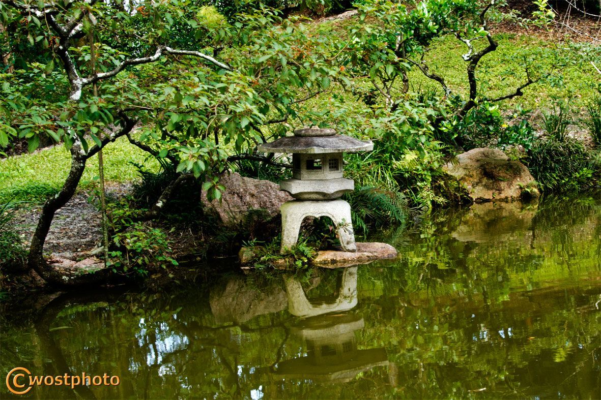 The Morikami Japanese Garden in Delray Beach, Florida/USA