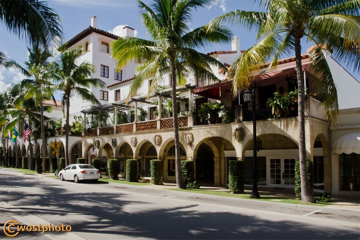 Worth Avenue in Palm Beach, Florida/USA