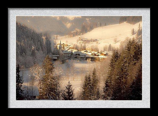 Werfenweng in Salzburger Land in winter