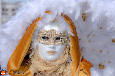 Mask posing at the Carnival in Venice/Italy