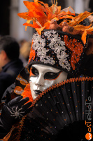 wostphoto, wostphoto, Mask posing at the Carnival in Venice 2017