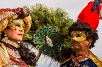 wostphoto, Masks are posing at the Carnival in Venice 2017