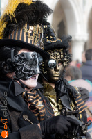 wostphoto, Masks posing at the Carnival in Venice 2017