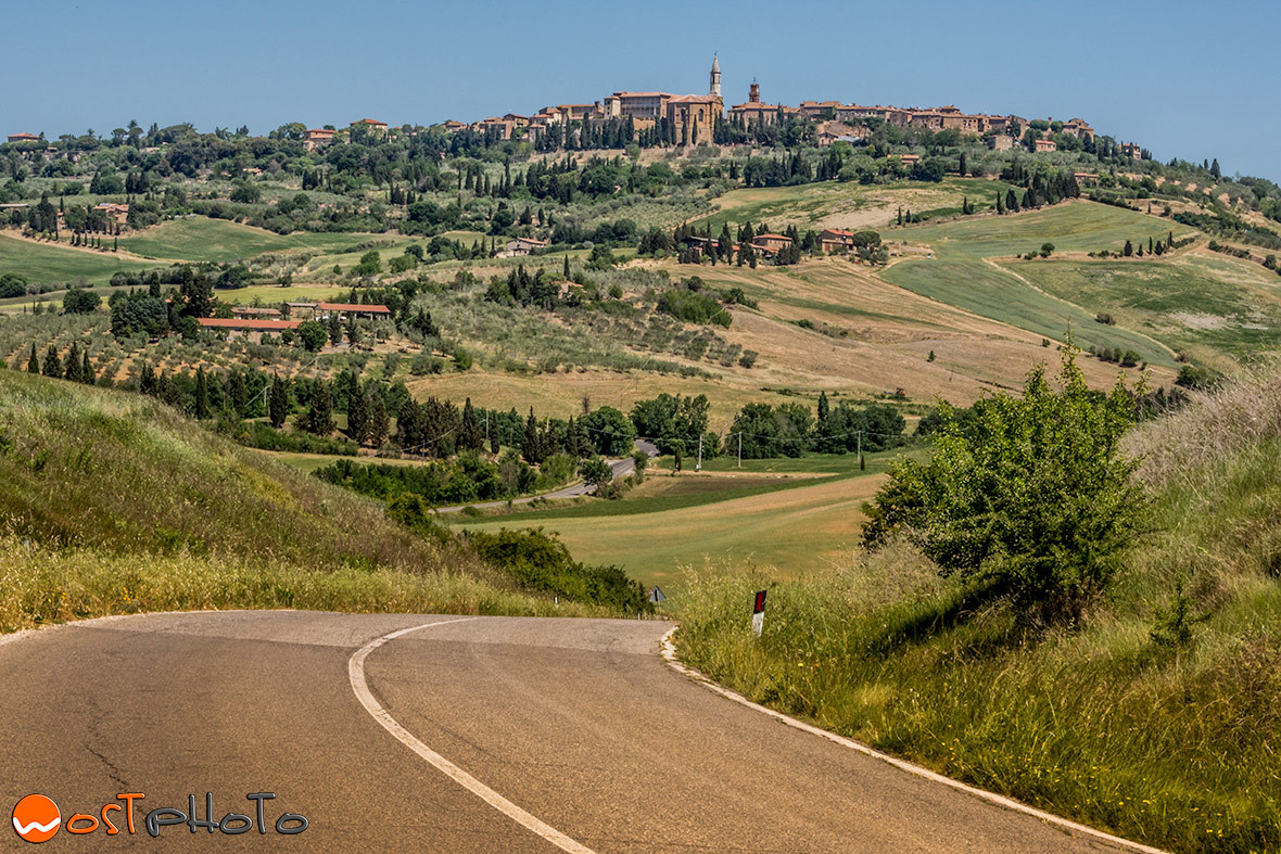 San Quirico in Val d'Orcia/Tuscany