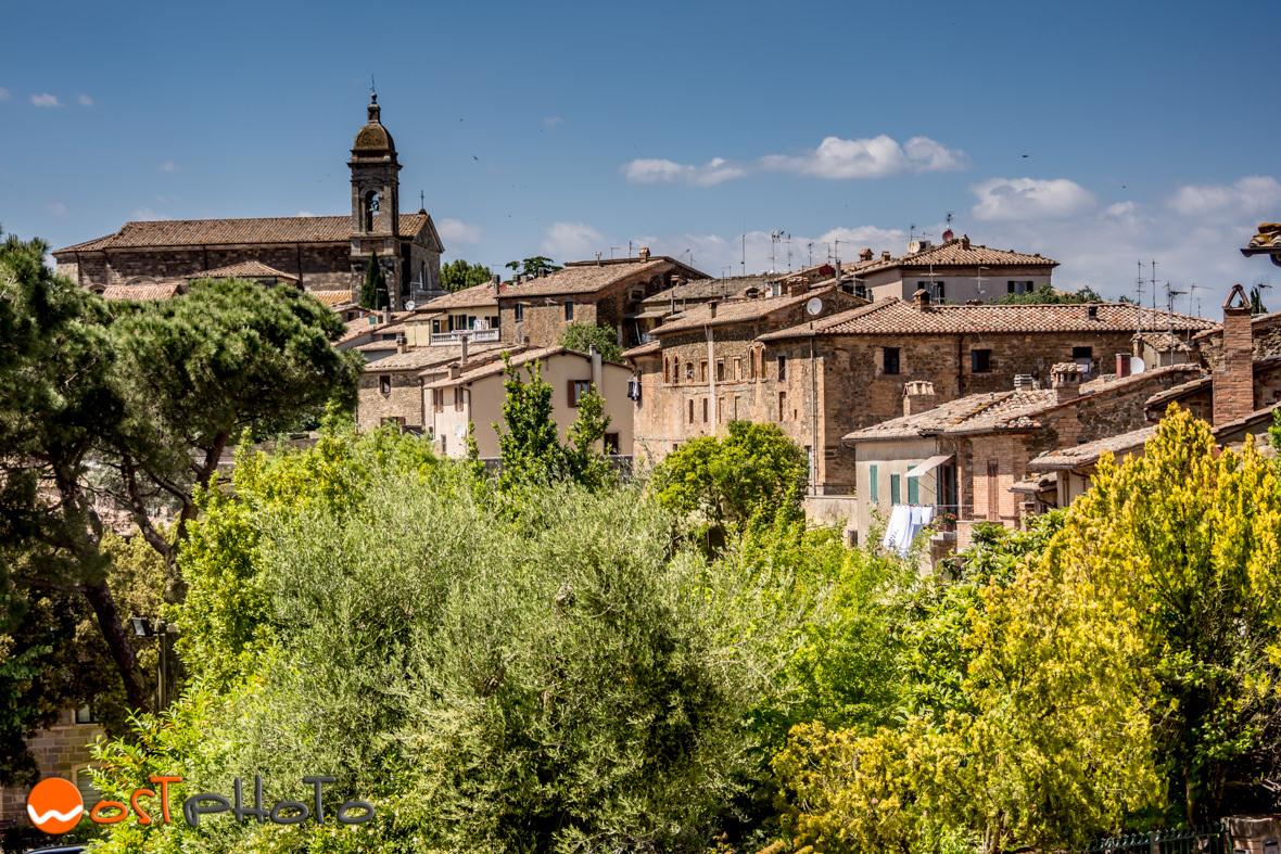 Montalcino, Val d'Orcia, Tuscany/Italy