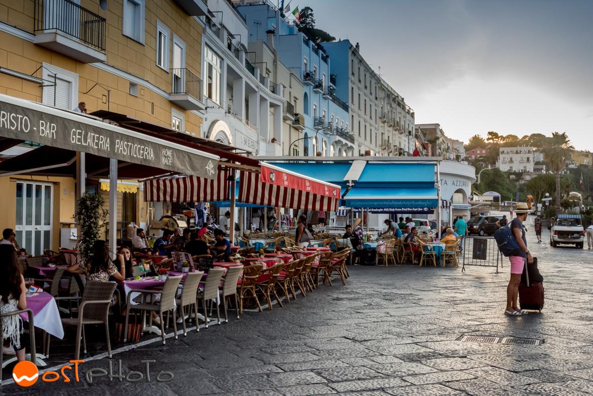 Capri harbor restaurants