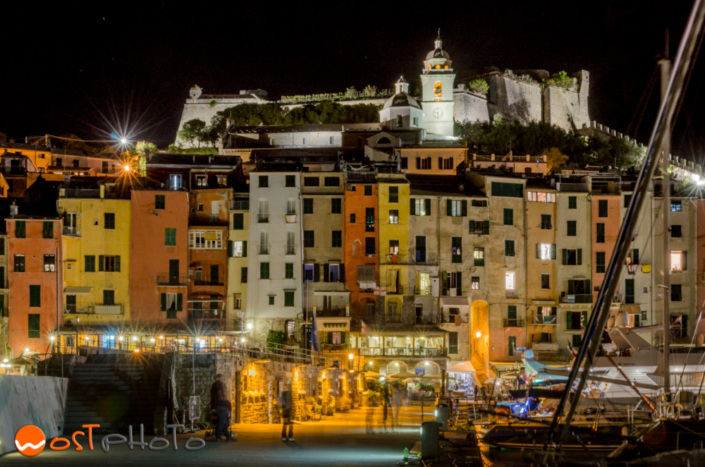Portovenere by night