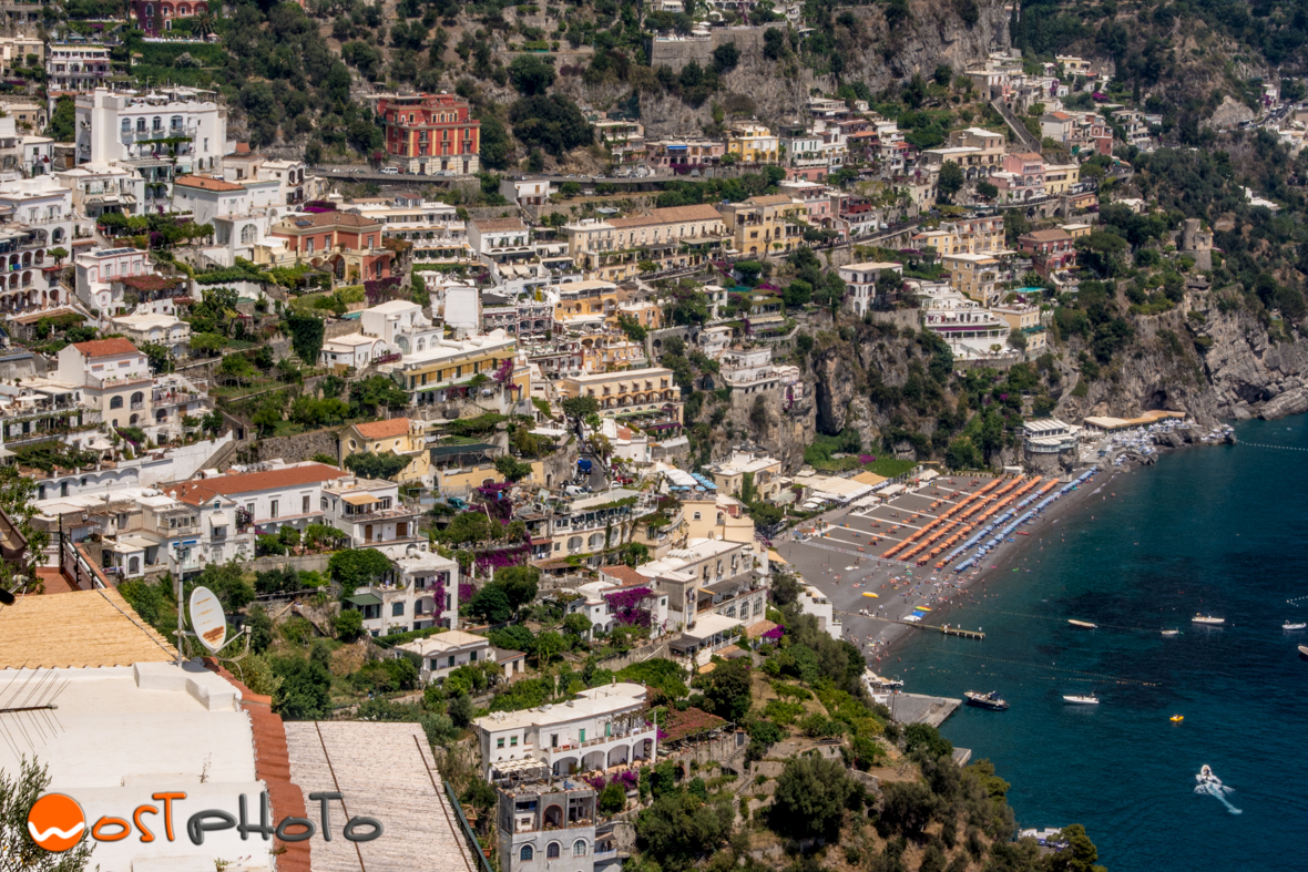 Positano on the Italian Amalfi coast
