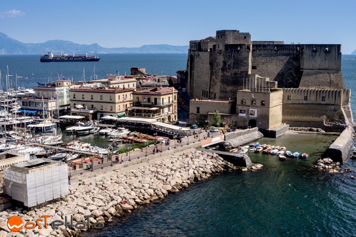 Castel dell'Ovo in Naples, fortress & former royal residence