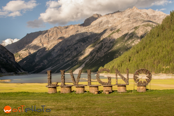 Livigno in the Italian Alps