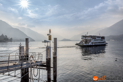 Car Ferry at Lake Como