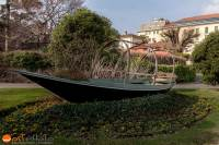 Lake Como, Cernobbio, wost, wostphoto, wolfgang stocker, lake, Lucia, Batell, boat, wooden boat, Italy, Lombardy, Lago di Como, Comosee,