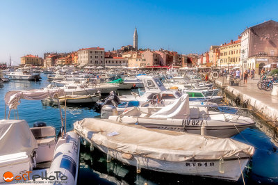 Rovinj, a lovely and charming Croatian fishermen town